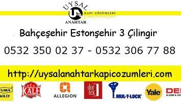 Bahçeşehir Estonşehir 3 Çilingir
