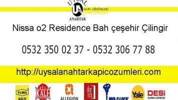 Nissa o2 Residence Bahçeşehir Çilingir