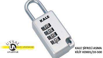 Kale Şifreli Asma Kilit KD001/20-300