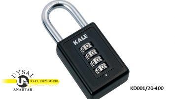 Kale Şifreli Asma Kilit KD001/20-400