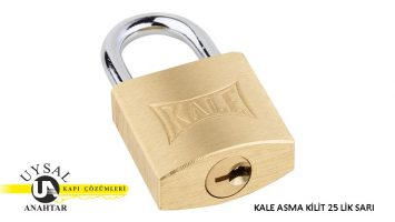 Kale Sarı Asma Kilit KD001/10-225