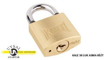 Kale Sarı Asma Kilit KD001/10-230