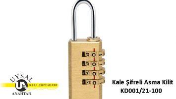 Kale Şifreli Asma Kilit KD001/21-100