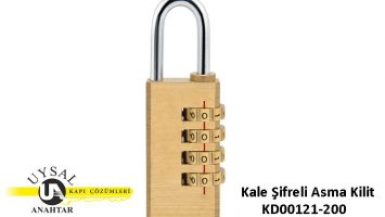 Kale Şifreli Asma Kilit KD001/21-200