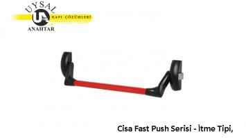 Cisa Fast Push Serisi – İtme Tipi, Yüzeye Monte Model