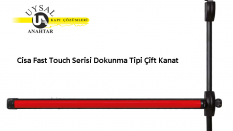 Cisa Fast Touch Serisi Dokunma Tipi Çift Kanat