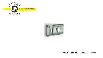 Kale Yeni Motorlu Otomat KD050/30-400