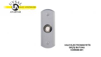 Kale Elektromanyetik Geçiş Butonu KD050/90-901